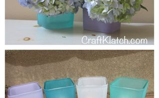 diy beachy vases or votives easy beach decor dollar store craft, crafts, home decor