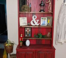 q repurposed gun cabinet, kitchen cabinets, kitchen design