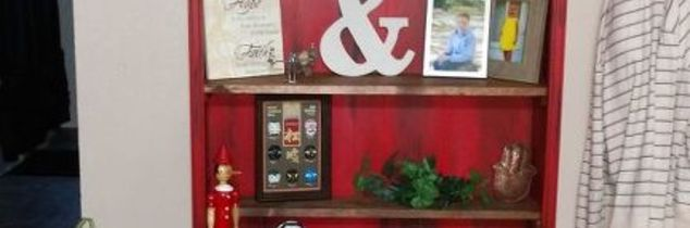 q repurposed gun cabinet, kitchen cabinets, kitchen design