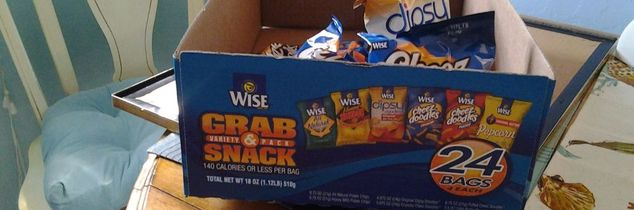 t my husband love the little bags of chips that come in boxes