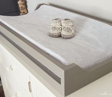 easy diy nursery changing pad tray, bedroom ideas