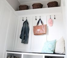 from closet to mudroom, closet, foyer