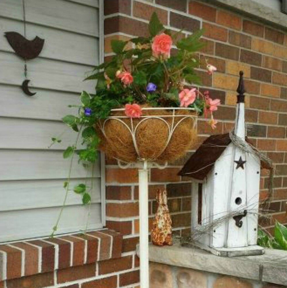 s 15 ways you never thought of using light fixtures in your home, home decor, Turn a standing lamp into a planter