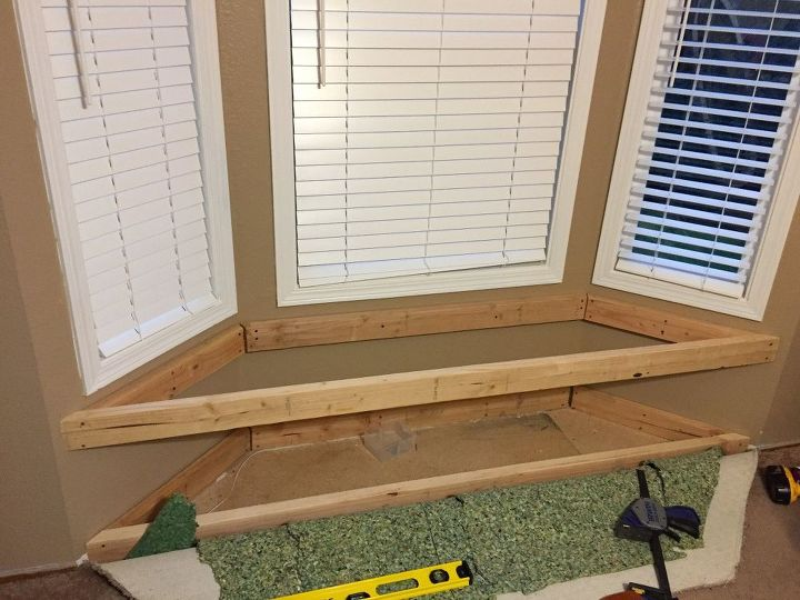 Diy Built In Window Seat With Drawer And Cabinet Storage