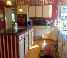 how i gave my kitchen a facelift, kitchen design