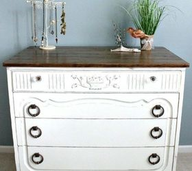 Dab A Newly Painted Dresser With A Sand Block