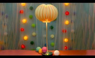 diy paper plate hi tech lamp design, home decor, lighting