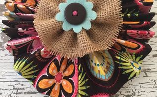faux flowers six ways 3 fabric accordion flower, gardening, reupholster