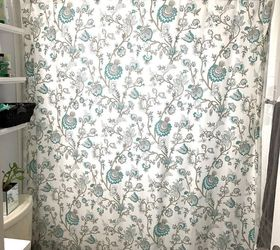 Shower Curtain Valance, Bathroom Ideas, Home Decor, Window Treatments