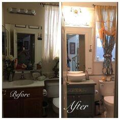 Bathrooms idea box by b enne hometalk for Bathroom remodel under 500