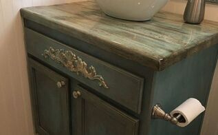 guest bath remodel for under 500, bathroom ideas, home improvement