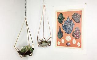 himmeli plant lantern hangers, gardening, outdoor living