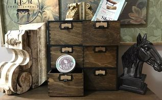 how to make your own apothecary cubby, how to
