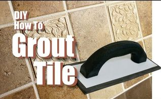 diy how to grout tile, cleaning tips, how to, tiling