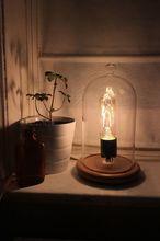 vintage cloche light