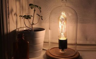 vintage cloche light