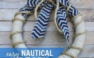 easy nautical wreath, crafts, wreaths