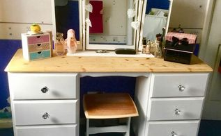 how i gave an old dressing table a new lease of life, painted furniture