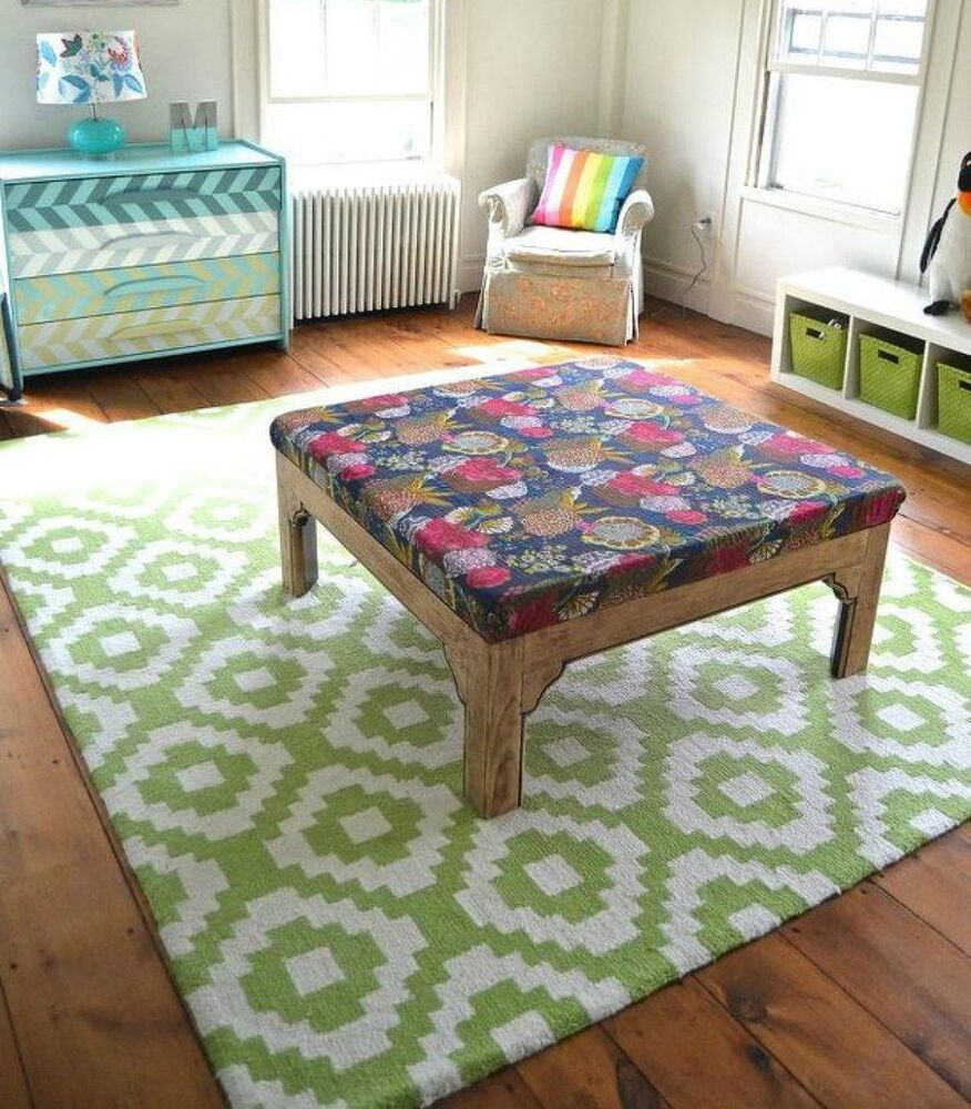 12 gorgeous ottoman ideas that will make you want to put for Where to put ottoman