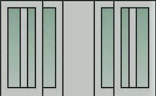 q high traffic patio door treatment, doors, window treatments