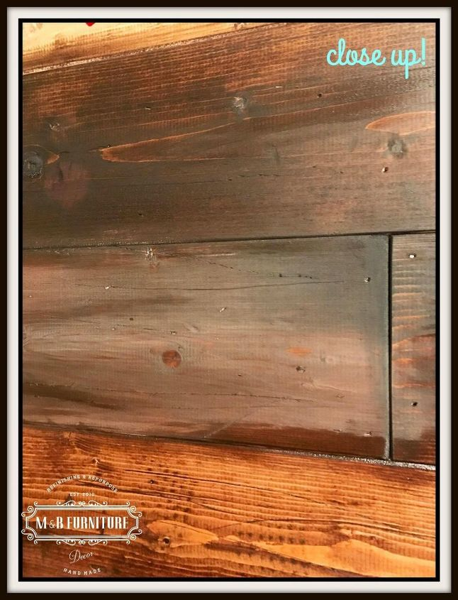 faux rustic reclaimed look wood wall - Faux Rustic Reclaimed Wood Look Wall. Hometalk