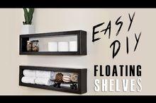 how to make a 7 floating shelf, how to, shelving ideas