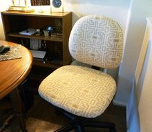 simple step by step how to upholster your office chair, how to