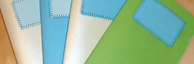 e paper crafts one straight seam and you ve got a cute notebook, crafts