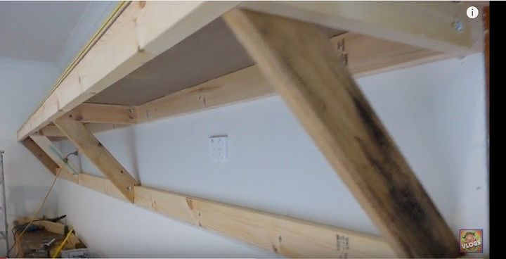 Self Supporting Shelves Heavy Duty For Garage Shed