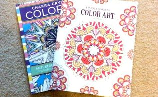 s how to fake high end decor with adult coloring books, home decor, how to