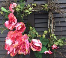 q welcoming spring begins at your front door, doors, Pink Plenty