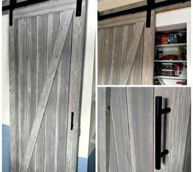 Diy Shiplap Barn Door For A Galley Kitchen Pantry, Closet, Doors, Kitchen  Design ...