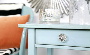 how to use chalkpaint to fake an expensive shabby chic nightstand, chalk paint, how to, painted furniture, painting, shabby chic