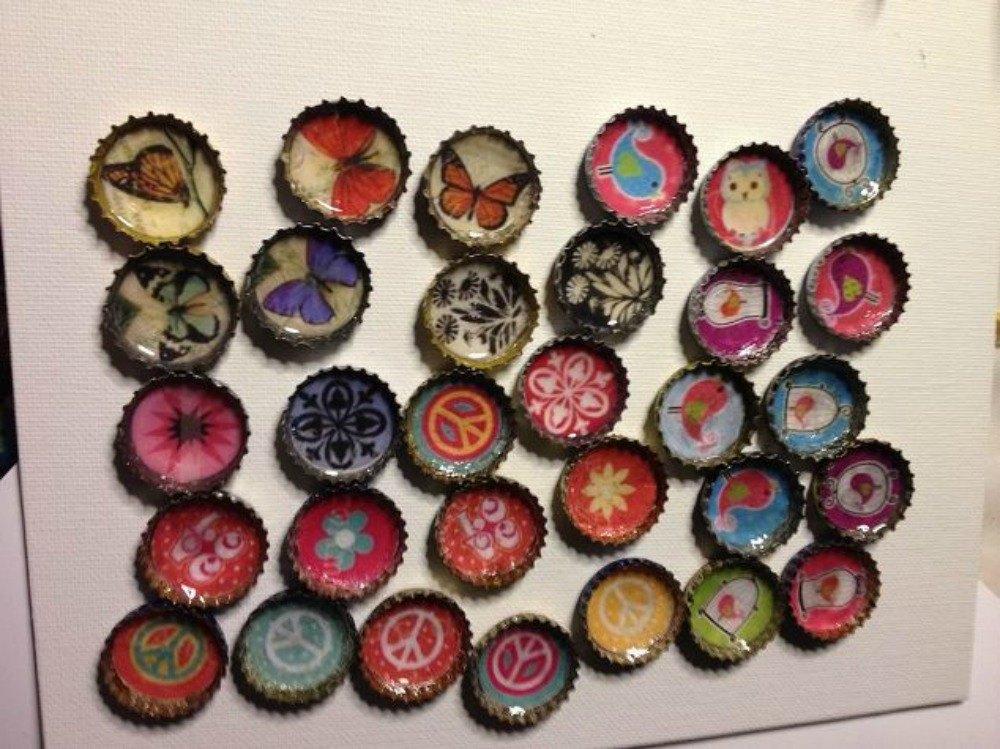 Diy Crafts Bottle Caps
