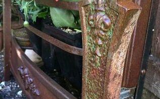 repurposing a vintage heater into a planter, gardening, hvac