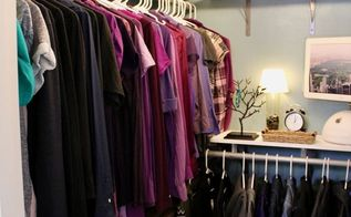 walk in closet makeover, closet