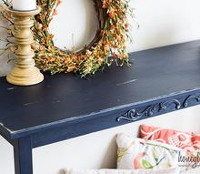 easy console table makeover, painted furniture