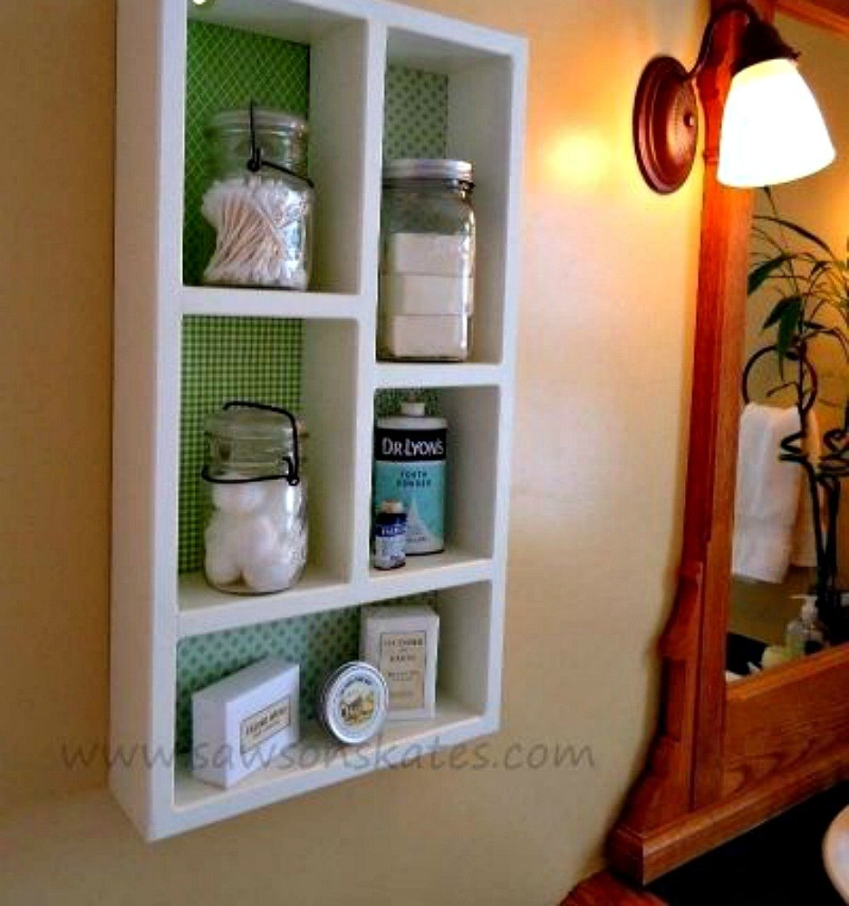 Creative Bathroom Shelving Ideas : Replace your bathroom shelves with these creative ideas