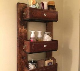 repurpose an old sewing machine table