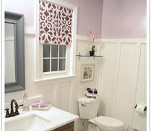 before after my pretty lavender master bathroom makeover, bathroom ideas