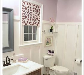 before after my pretty lavender master bathroom makeover bathroom ideas
