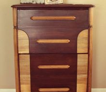 turning a chest of drawers into a vinyl record cabinet, kitchen cabinets, kitchen design, painted furniture