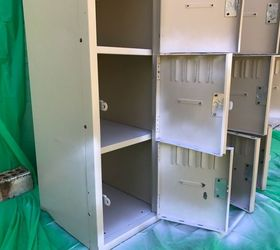 how to paint metal lockers how to storage ideas