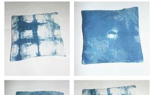 tye dye shibori pillow covers