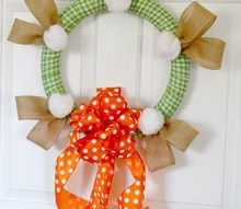 easter bunny wreath perfect spring door decor
