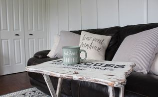 diy distressed farmhouse trays for 10 tutorial, chalk paint, painted furniture