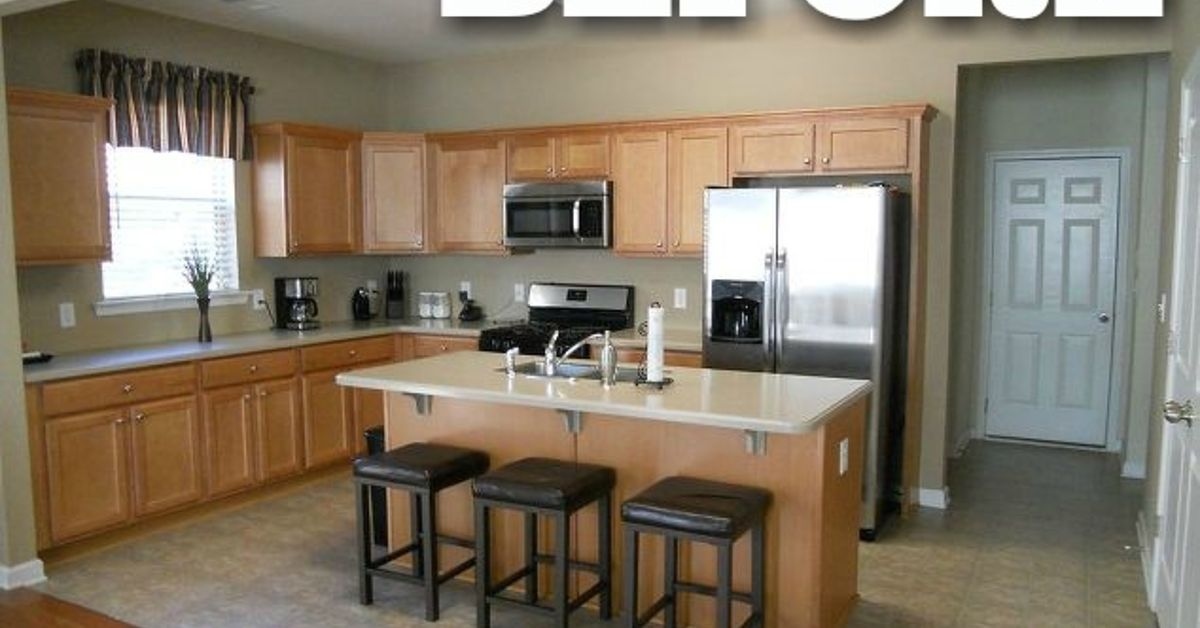 12 reasons not to paint your kitchen cabinets white hometalk for Kitchen cabinets 10 x 12