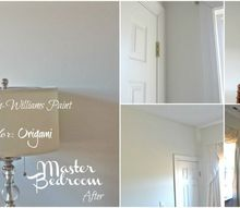 painting the master bedroom and closet
