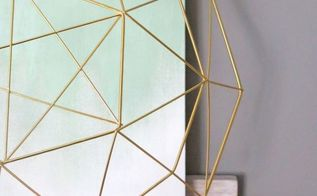 marble and gold office room reveal