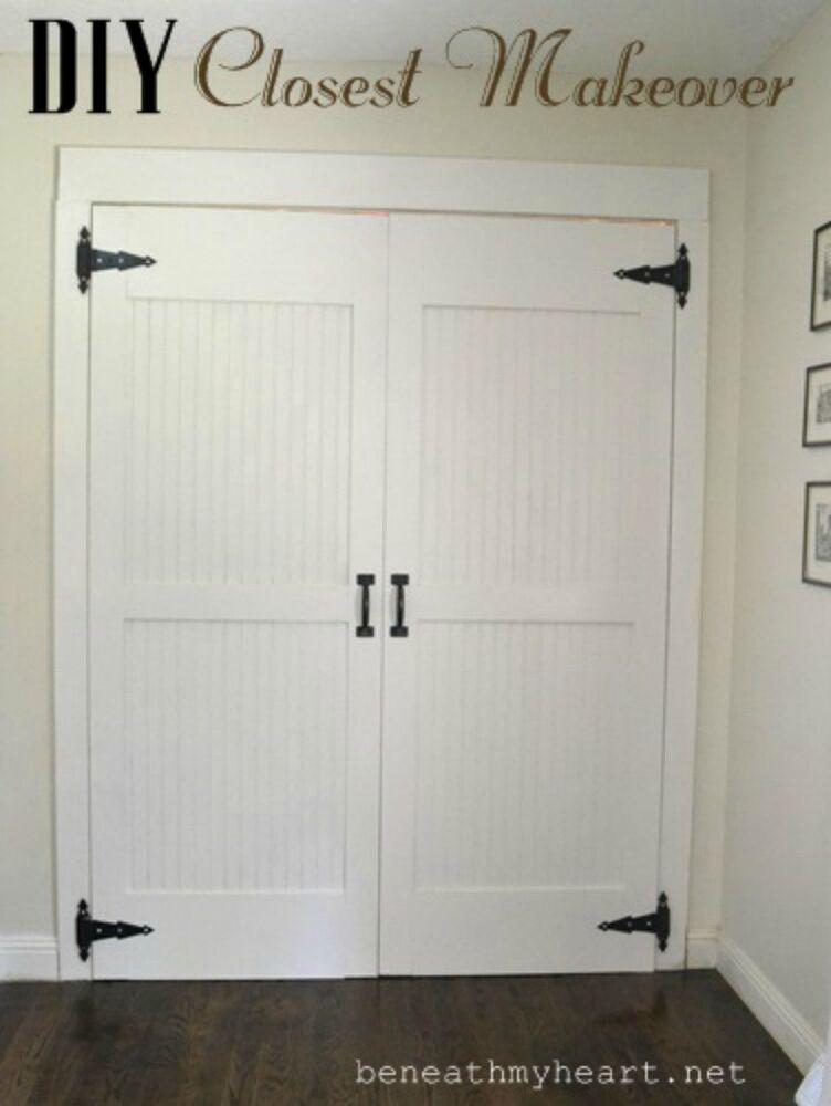 13 amazing closet door transformations that will change for 13 door